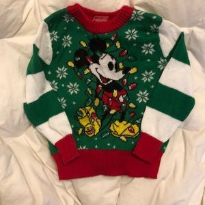 Mickey Ugly Christmas sweater